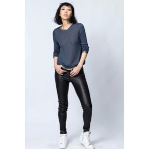 NWT Zadig & Voltaire Willy Long Sleeve Tee